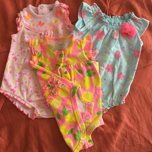 Other - Precious Baby Girl Rompers